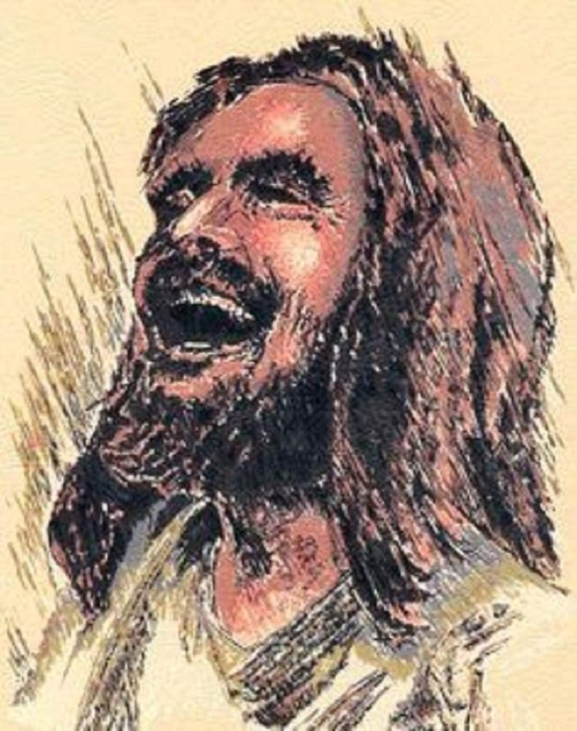 There's something about Jesus laughing.